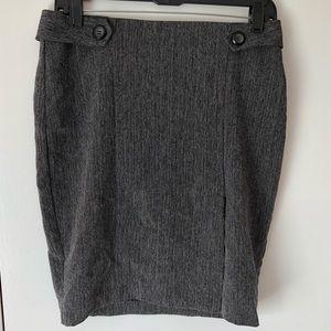 BCX Gray Suit Skirt To Set